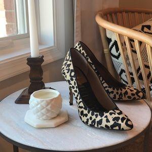 Dolce Vita leopard heels